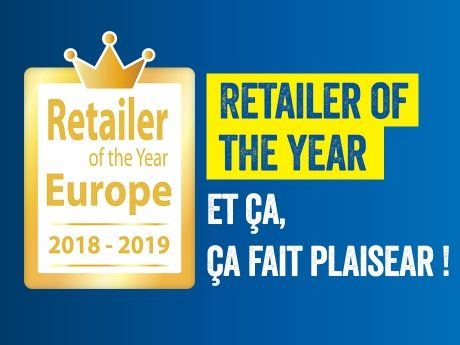 RETAILER OF THE YEAR EUROPE 2018-2019